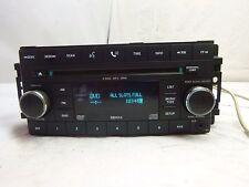 07 08 Chrysler Dodge Sebring Avenger REQ Radio MP3 6 CD DVD AUX 05064111AJ TG357