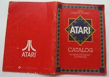 The Atari Video Computer System 45 Game Cartridges  Catalog 1981