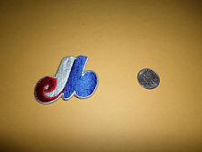"""VINTAGE MLB MONTREAL EXPOS 2"""" X 2 1/2"""" IRON ON PATCH"""