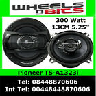 "Pioneer TS-A1323i 3 way 13cm 130mm 5.25"" Inch Car Door Speaker 600 Watts a Pair"