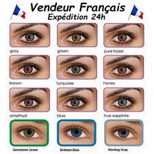 Lentille de Contact Souple de Couleur / Color Contact Lenses / Validité 3 Mois