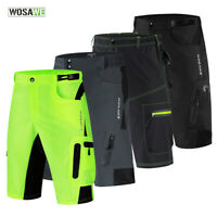Mens Cycling Baggy Shorts MTB Mountain Bike Sports Short Pants + Underwear Cool