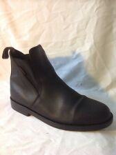 Geologic Black Ankle Leather Boots Size 6.5