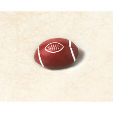 FOOTBALL MINI SQUISHY TOYS (12) ~ Birthday Party Supplies Favors Sports Balls