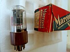 B36 12SN7  Marconi  MD Brown Base   New Old Stock  Valve Tube 1 pc G JLY18