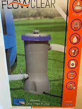 Bestway 58388E 1000 GPH Swimming Pool Cartridge Filter Pump System - *FREE SHIP*