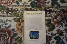 1929 Fachbericht Vh 169 künstliche Edelsteine Aurrien Johnsen