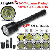 XLightFire Super Bright 30000Lm XM-L T6 LED 5-Mode 18650 Flashlight Torch Lamp