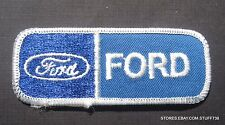 """FORD EMBROIDERED SEW ON PATCH LOGO AUTO CAR FOCUS FIESTA MUSTANG 3 1/2 x 1 1/2"""""""