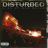 DISTURBED - LIVE AT RED ROCKS   CD NEU