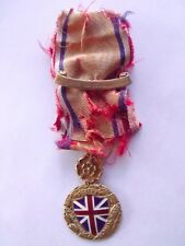 ULTRA RARE MEDAL SOCIETY DAUGHTERS OF COLONIAL WARS SOLID 14K GOLD BB&B HARRISON