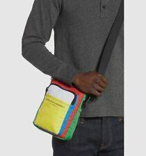 $107 WeSC Men's Green Sling Travel Crossbody Shoulder Carry Small Bag Pack