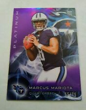 2015 Topps Platinum Marcus Mariota Purple Refractor RC #d/75 Awesome! See pics!