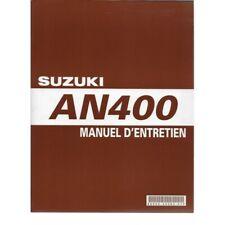 SUZUKI - Manuel atelier SUZUKI AN 400 de 2004 à 2006 (09 / 2005) - 99500-34083-