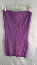 French Connection Sleeveless Tube Top Bandage Dress Purple sz 8 NWT