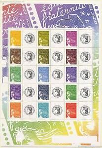 FRANKREICH FRANCE - 2004 MARIANNE 3709-14 II KLEINBOGEN ** - CERES  F3688B