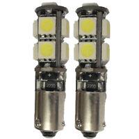 NON-CANBUS H21W Parking Sidelight LED Bulbs Set Kit Xenon White BAY9s