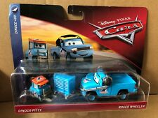 DISNEY CARS DIECAST - Dinoco Pitty & Roger Wheeler - New 2018 -Combined Postage