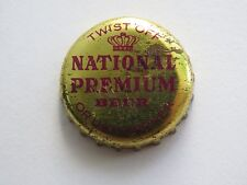 Late 1970s Beer Bottle Cap: National Premium ~ Baltimore, Maryland Breweriana