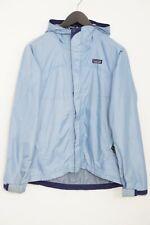 Women Patagonia Jacket Blue Breathable Waterproof Nylon Casual S VAU561