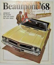 1968 Beaumont Ready for New Ideas Sales Brochure - Canadian REVISED