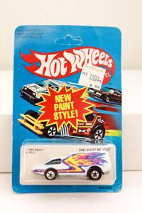 Hot Wheels Spoiler Sport #9641 Hong Kong 1982 White MIP