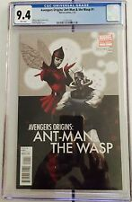Avengers Origins: Ant-Man & The Wasp #1 - CGC 9.4 NM - First Print - by Roberto