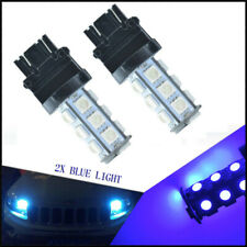 2 x High Power Ice Blue 3156 3157 18SMD Reverse Backup DRL Lights LED Bulbs