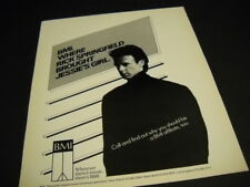 RICK SPRINGFIELD 1985 Promo Poster Ad BMI Brought You Jessie's Girl mint cond
