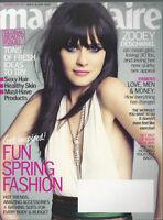 ZOOEY DESCHANEL Claudia Schiffer Guess FELICITY JONES Zoe Zoey 2012 Marie Claire
