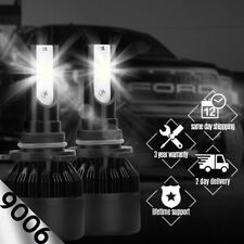 2x XENTEC 9006 HB4 LED Headlight Bulb Kit Low Beam 6000K 60W 7600LM White Light