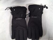 Black Seirus Winter Snow Gloves HW
