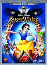 Disney Snow White and the Seven Dwarfs Diamond Edition 2009 DVD Blu-ray Set