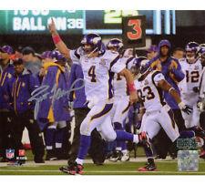 Brett Favre Signed Minnesota Vikings Unframed 8x10 NFL Photo - 500th Touchdown