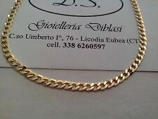 BELLISSIMA COLLANA  IN ORO GIALLO (oro 18kt titolo 750%) necklace gold grams 6,2