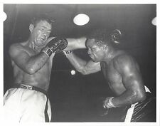 ARCHIE MOORE JOEY MAXIM 8X10 PHOTO BOXING PICTURE