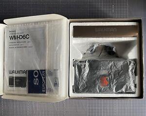 Sony Walkman Professional WM-D6C - BOXED - Cassette Player Recorder