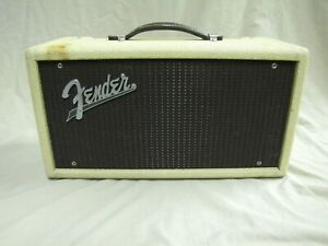 Vintage 1961 Fender Reverb Unit  w/h Cover & Footswitch   Rare !!