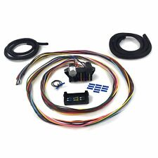 Ultimate 12 Fuse 12v Conversion Wire Harness 42 1942 Ford Coupe muscle rat