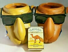Joe Cool Smooth Character Camel Cigarettes Can Holders And Camel Lighter 1991