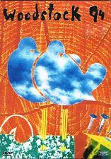 WOODSTOCK 94 DVD (EX6835) METALLICA, BOB DYLAN, NINE INCH NAILS ETC 165 MINS!
