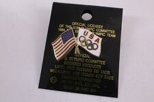 1994 Usa olympic flag on card