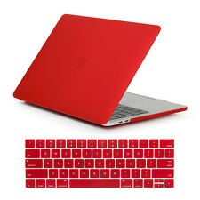 """2016 Macbook PRO 13""""15 Touch Bar A1706/A1707 Rubberized Hard Case Keyboard Cover"""