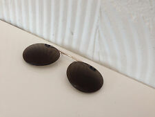 CUSTOM FLIP-UP POLARIZED CLIP-ON 4 OLIVER PEOPLES 47MM RILEY-R (GOLD)