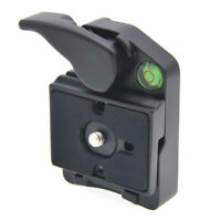Quick Release Mount Adapter Double Insurance Holder Light Stand Fr Cameras DSLR