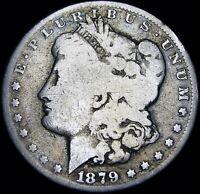 1879-S Rev 78 Morgan Dollar -- Silver Dollar -- Reverse 1878 #D583
