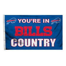 Buffalo Bills 3x5 Country Design Flag [NEW] NFL Banner Sign Fan Wall House