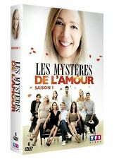 """DVD """"Les Mystères de l'amour - Saison 1""""  coffret 6 DVD NEUF SOUS BLISTER"""