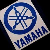 Yamaha REFLECTIVE BLUE Tuning Fork decals srx r 1 3 6 m 16 8 mt 0 9 7 15 zuma fz