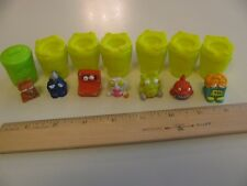 Lot of Trash Pack Figurines Can Yellow Green Cute Toys